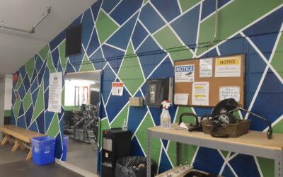Fitness centre renovations!